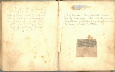 Handwritten Maryland Receipt Book